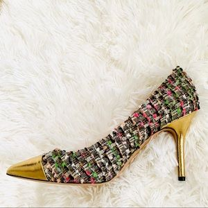 NWT: J CREW COLLECTION | Elsie Tweed Pumps